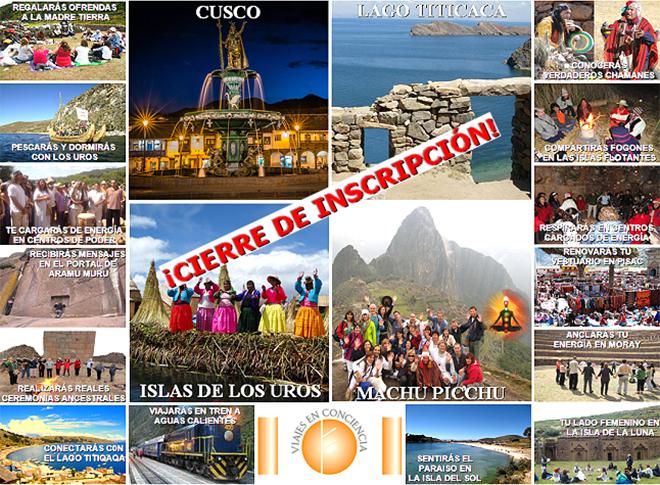 Bolivia y Perú Sagrados, del 28 de marzo al 8 de abril 2018